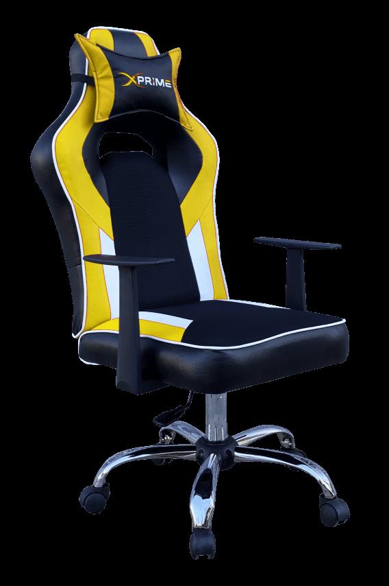 XPrime Plus Oyuncu Koltuğu Sarı