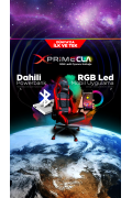 Xprime CLA RGB Ledli Oyuncu Koltuğu (Şarjlı)