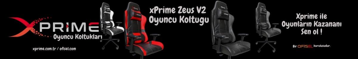 xPrime Zeus V2 Oyuncu Koltuğu Kampanya