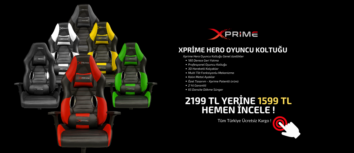 Xprime Hero Oyuncu Koltukları