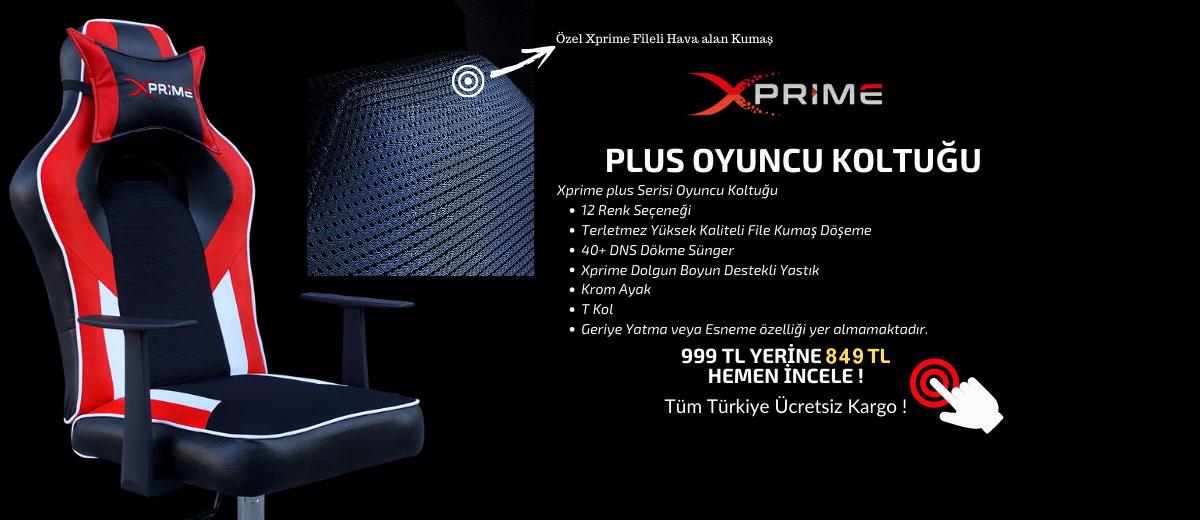 Xprime Plus Oyuncu Koltuğu