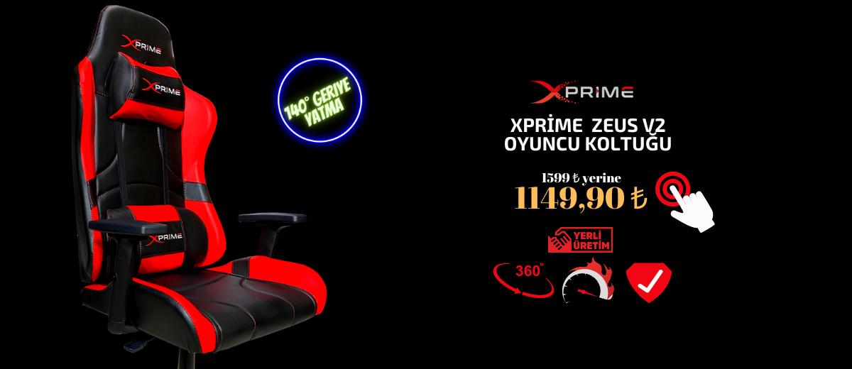 xPrime Zeus V2 Oyuncu Koltuğu Fırsat ürünü